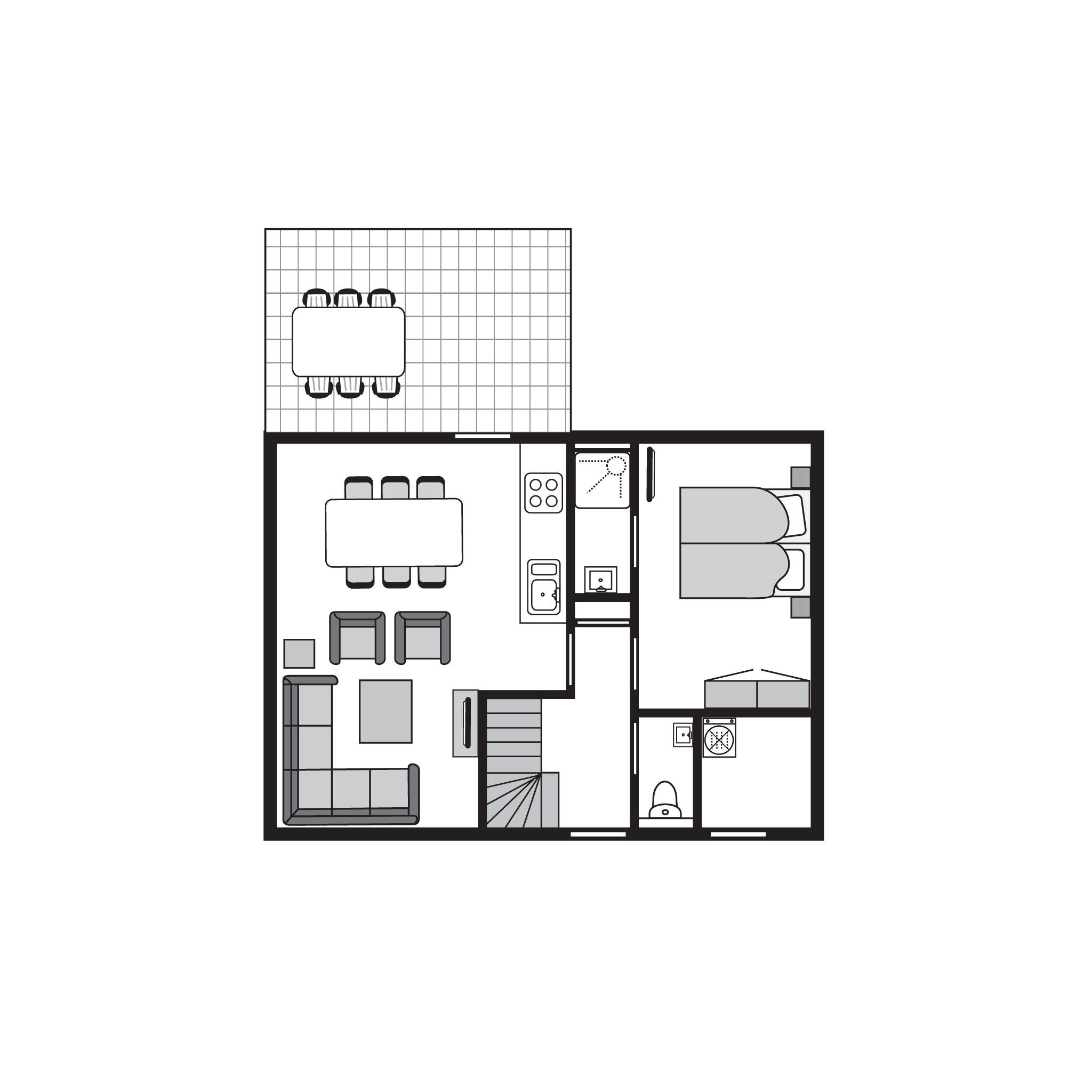 Ferienhaus Luxus 6-Personen-Unterkunft im Ferienpark Landal Strand Resort Nieuwvliet-Bad - an der Küs (589564), Nieuwvliet, , Seeland, Niederlande, Bild 34