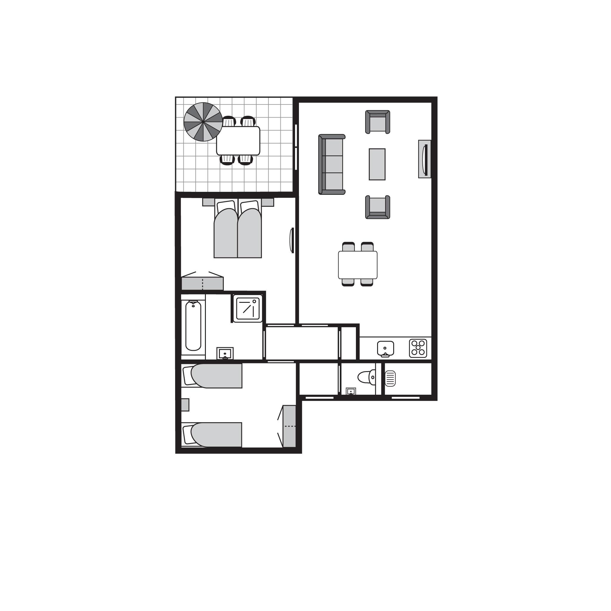 Ferienhaus Komfort 4-Personen-Unterkunft im Ferienpark Landal Amerongse Berg - In waldreicher Umgebun (764926), Overberg, , Utrecht, Niederlande, Bild 20