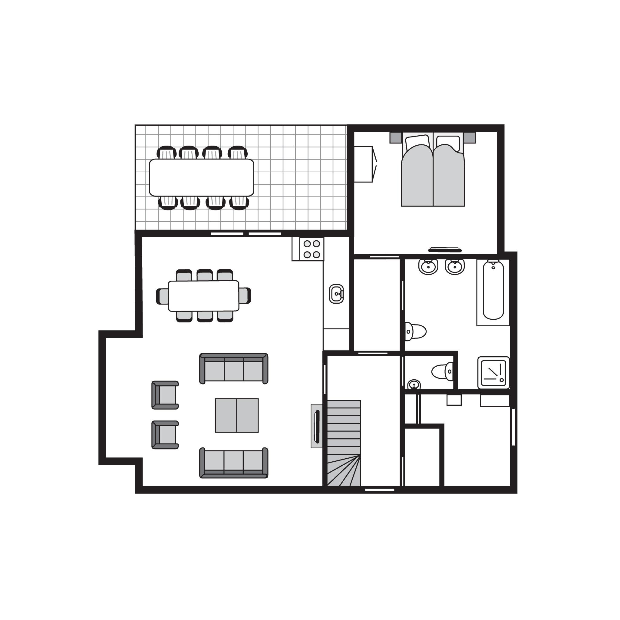 Ferienhaus Komfort 8-Personen-Villa im Ferienpark Landal Waterparc Veluwemeer - am Wasser/Freizeitsee (483659), Biddinghuizen, , Flevoland, Niederlande, Bild 33