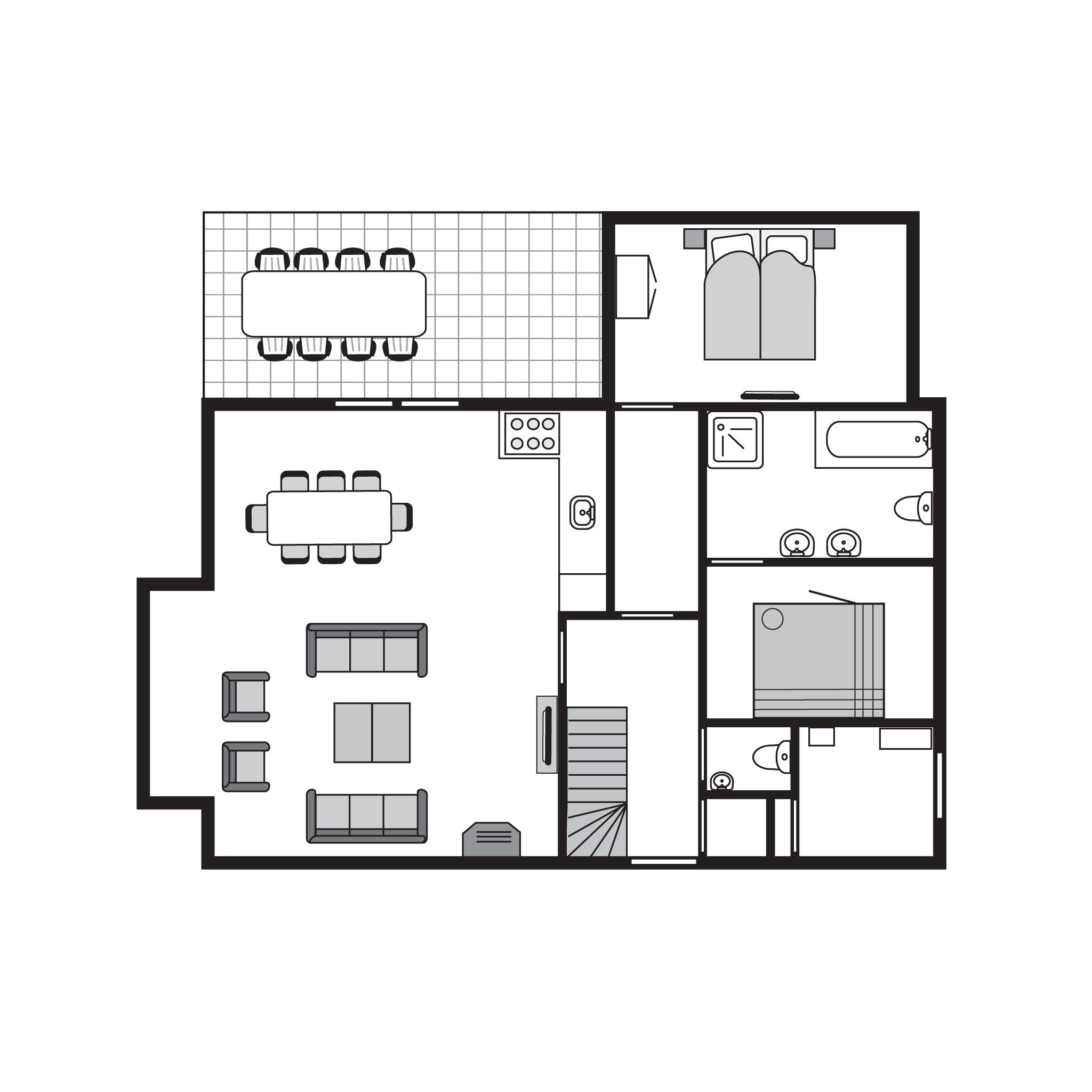 Ferienhaus Luxus 8-Personen-Villa im Ferienpark Landal Waterparc Veluwemeer - am Wasser/Freizeitsee (597310), Biddinghuizen, , Flevoland, Niederlande, Bild 37
