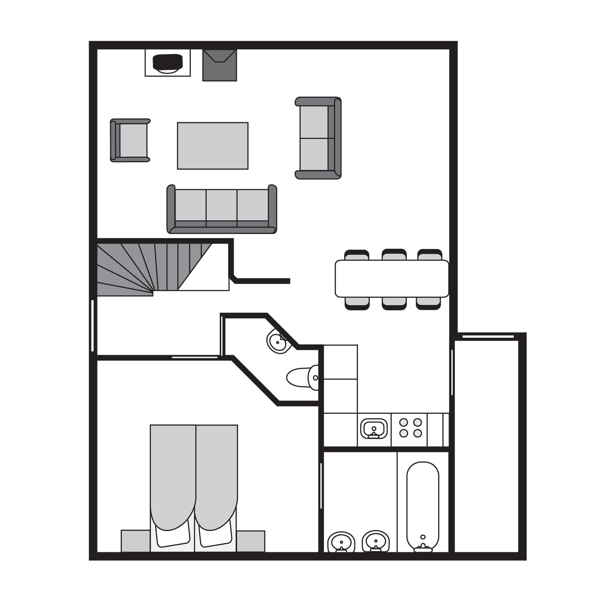 Ferienwohnung Luxus 6-Personen-Ferienhaus im Ferienpark Landal Coldenhove - im Wald/waldreicher Umgebung (354875), Eerbeek, Veluwe, Gelderland, Niederlande, Bild 18