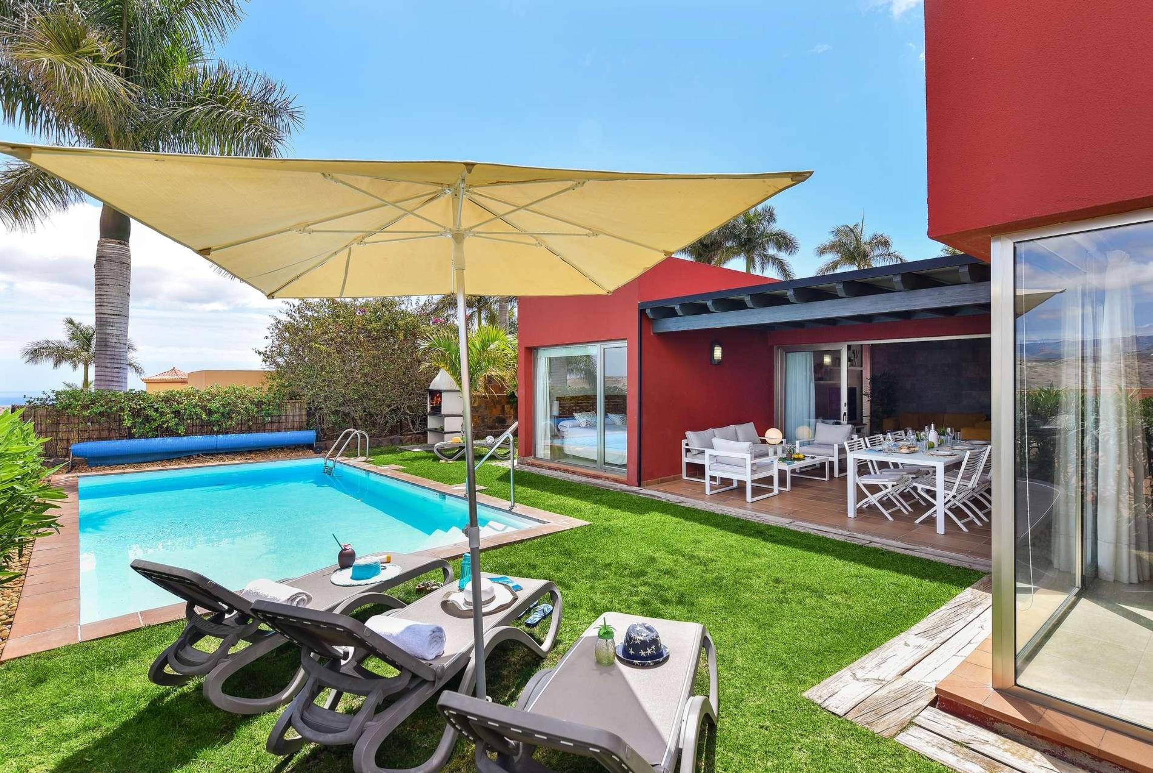 Holiday house Par 4 Villa 17 (2654016), Maspalomas, Gran Canaria, Canary Islands, Spain, picture 1