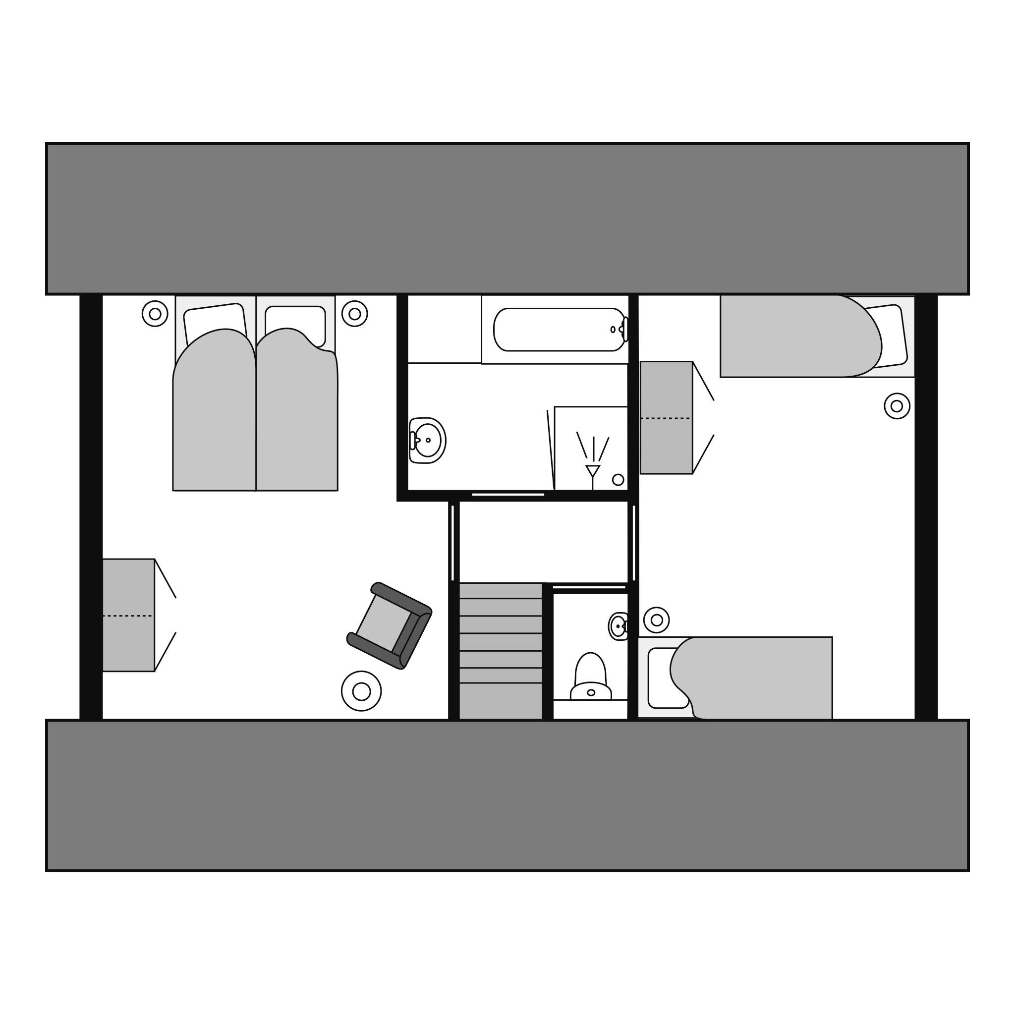Ferienwohnung Komfort 6-Personen-Ferienhaus im Ferienpark Landal De Vers - am Wasser/Freizeitsee gelegen (2669905), Overloon, , Nordbrabant, Niederlande, Bild 27