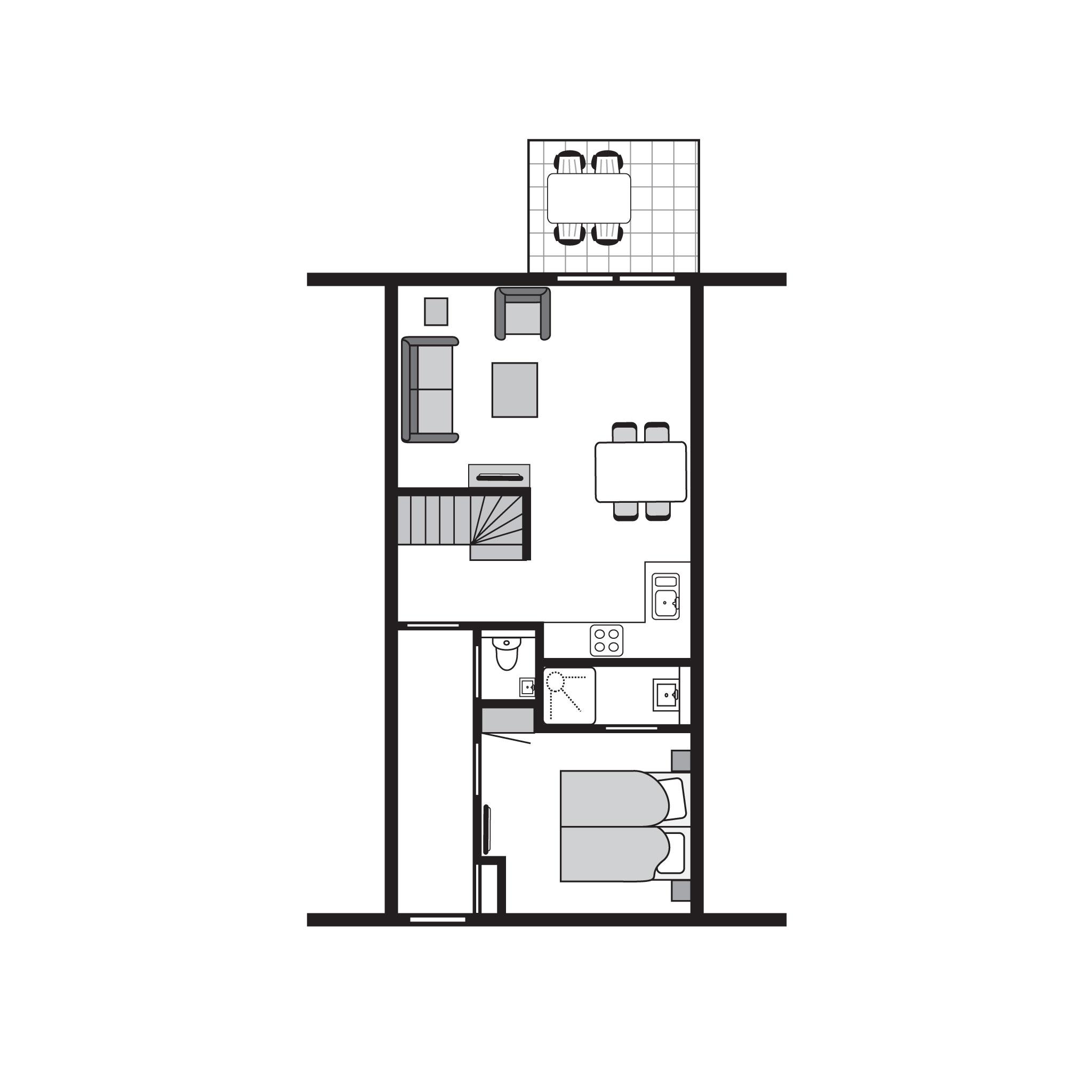 Ferienhaus Luxus 4-Personen-Bauernhaus im Ferienpark Landal Strand Resort Nieuwvliet-Bad - an der Küs (589561), Nieuwvliet, , Seeland, Niederlande, Bild 26
