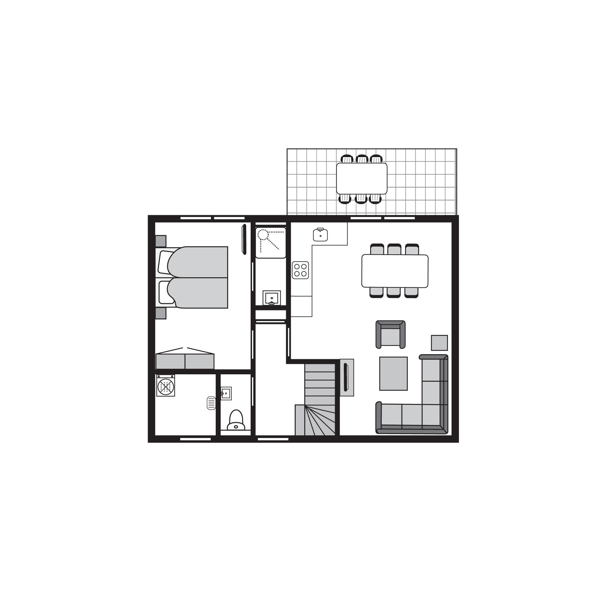 Ferienhaus Luxus 6-Personen-Unterkunft im Ferienpark Landal Strand Resort Nieuwvliet-Bad - an der Küs (589564), Nieuwvliet, , Seeland, Niederlande, Bild 35
