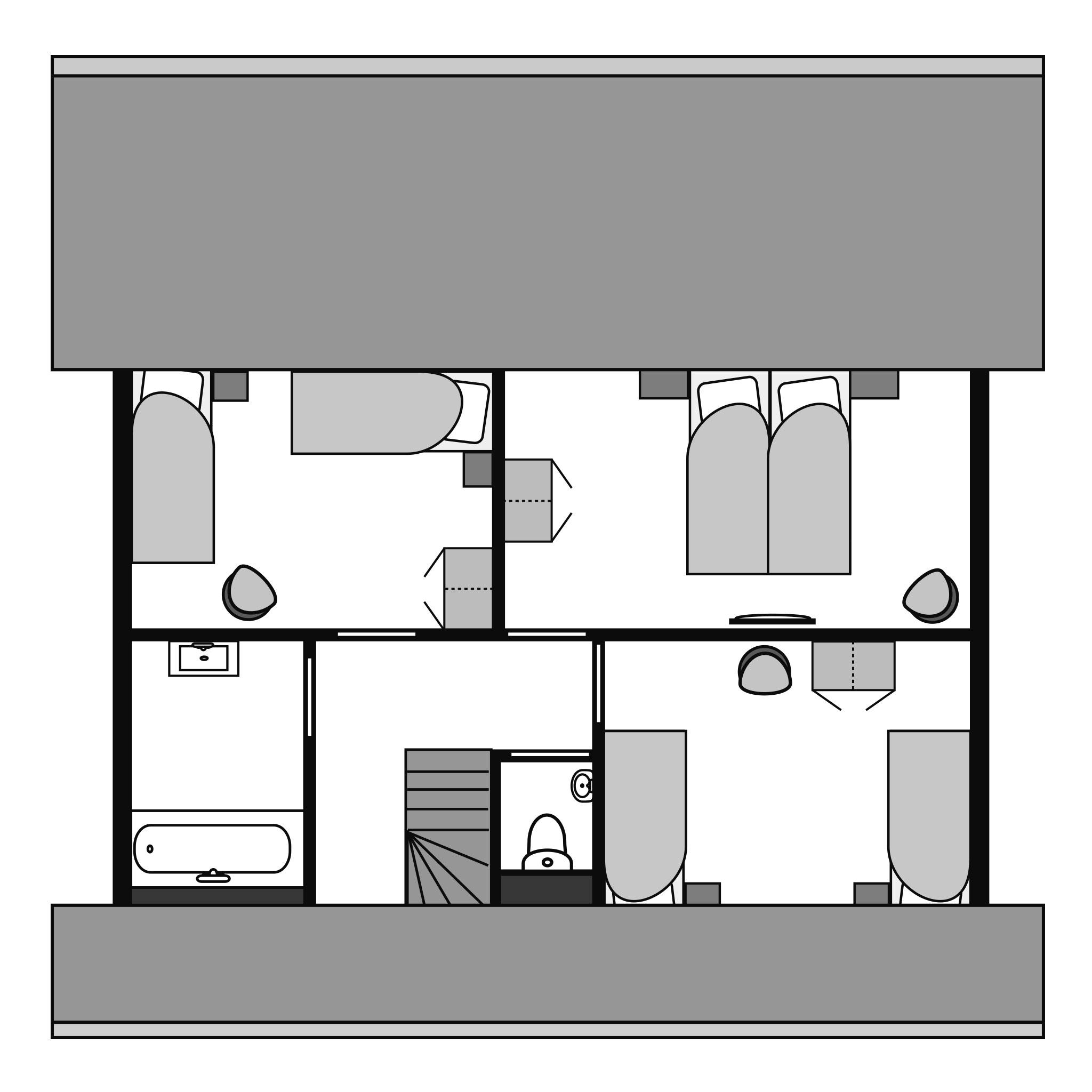 Ferienhaus Komfort 8-Personen-Ferienhaus im Ferienpark Landal Miggelenberg - in einer Hügellandschaft (1533847), Hoenderloo, Veluwe, Gelderland, Niederlande, Bild 22
